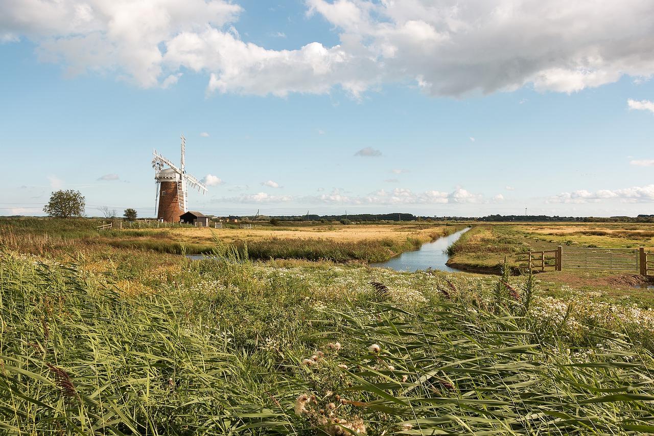 East Anglia Family Fun Norfolk windmill