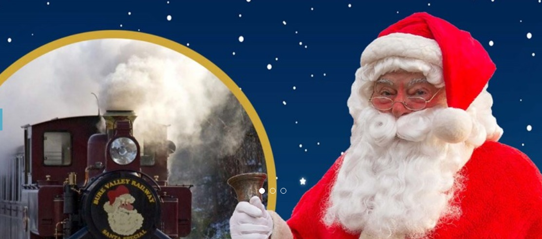 Christmas Events in Norfolk Bure Valley railway Santa Experience