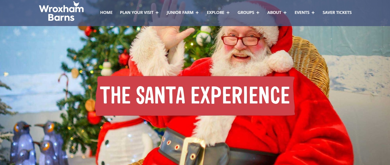 Christmas Events in Norfolk Wroxham Barns